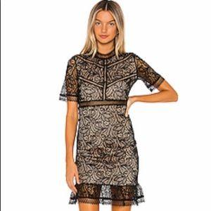 Bardot Lace Dress from Revolve